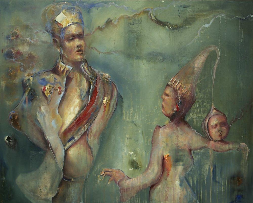 """""""Prinsen på skuldra""""."""