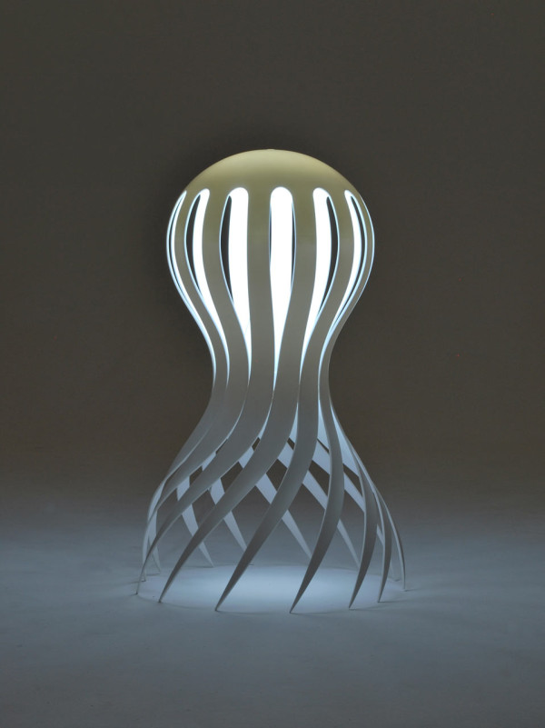 Cirrata Lamp by Markus Johansson Meant to light up the darkness of the ocean. http://markusjohansson.com