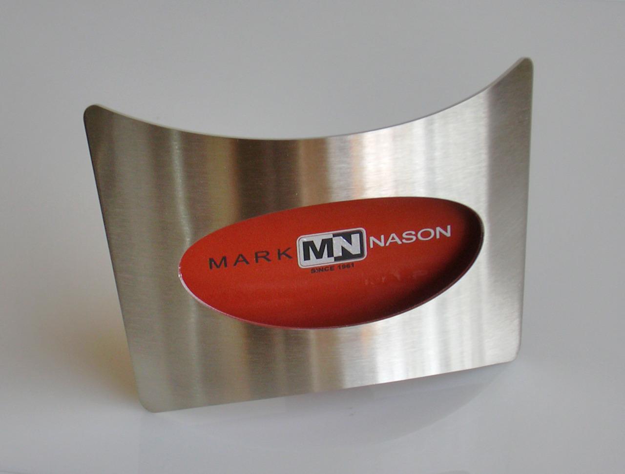 From OK Works, Signage and Shoe Riser Program for Mark Nason Shoes.   www.okworks.com