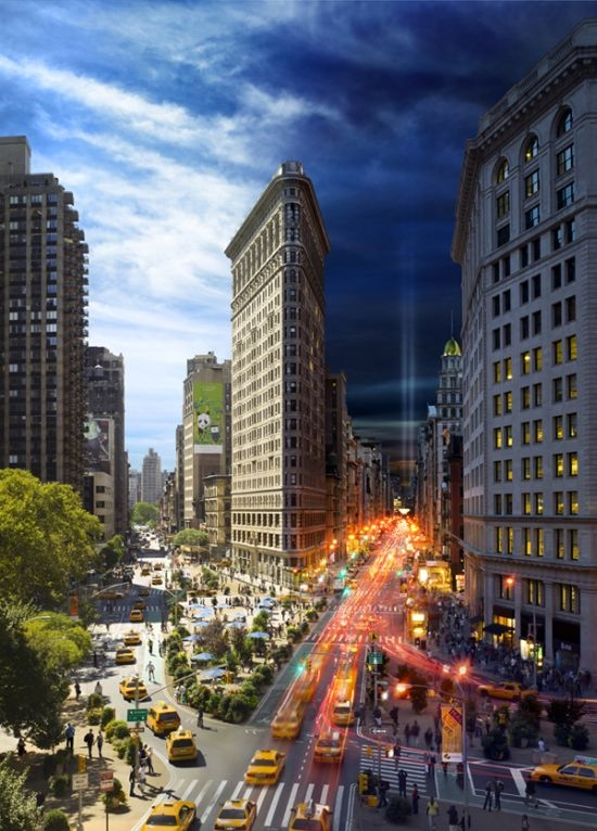 Photographs by Stephen Wilkes from his Day to Night series.   See more at Clamp Art Gallery, New York.    http://www.clampart.com