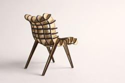 From Diatom Studio, software that lets anybody help design and build their own chair.   The SketchChair software lets users design chairs using a simple 2d drawing interface, automatically generating the structure of a chair and testing its stability.    http://www.sketchchair.cc/