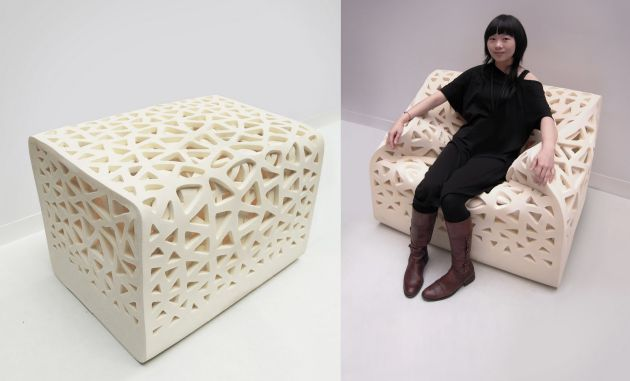This chair by  Yu-Ying looks like fun.     http://uyingdesign.blogspot.com/