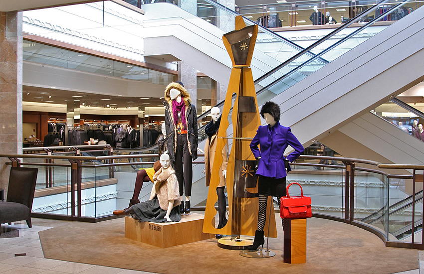 Cubist Sculpture for Nordstrom