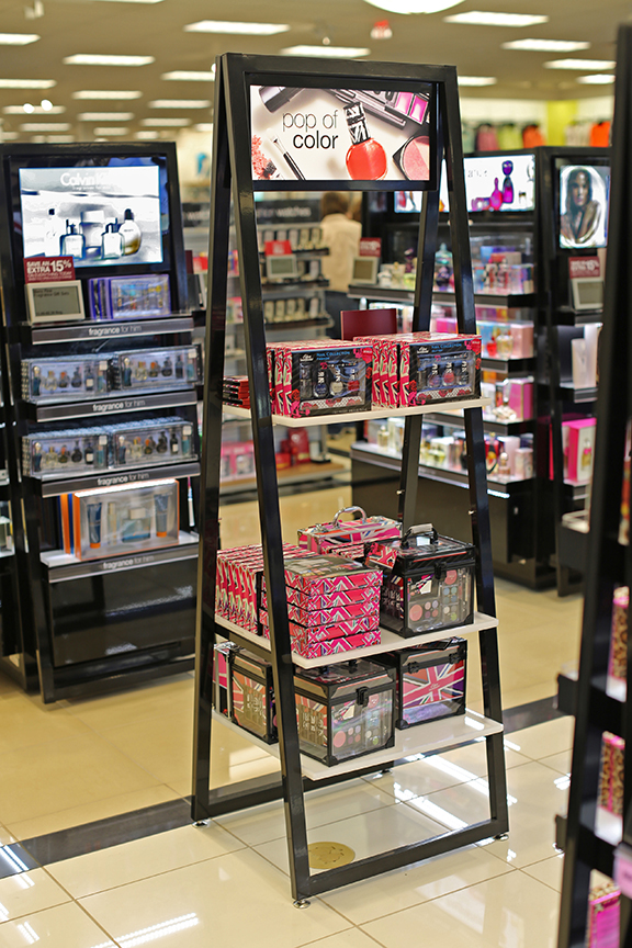 Kohl's Beauty Redesign -- Outpost Fixture