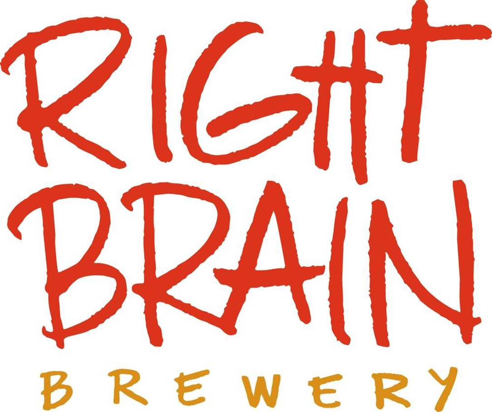 Right Brain Brewing Company   Available in Washtenaw, Jackson, Lenawee, Hillsdale, Monroe and Livingston Counties.