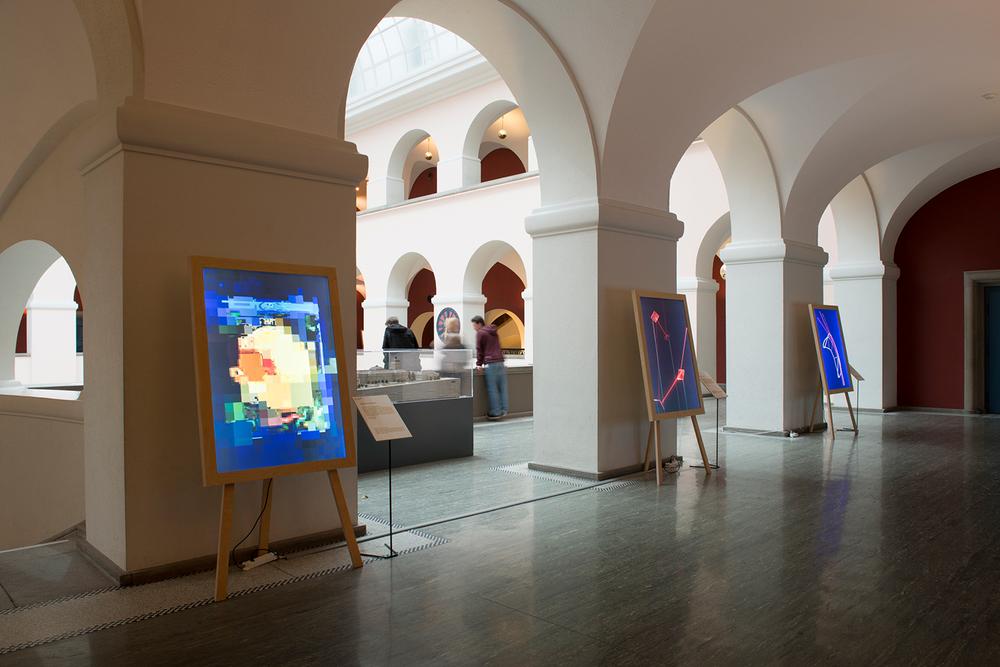 Ausstellungsansicht während der Scientifica 2015, ETH Hauptgebäude, Zürich