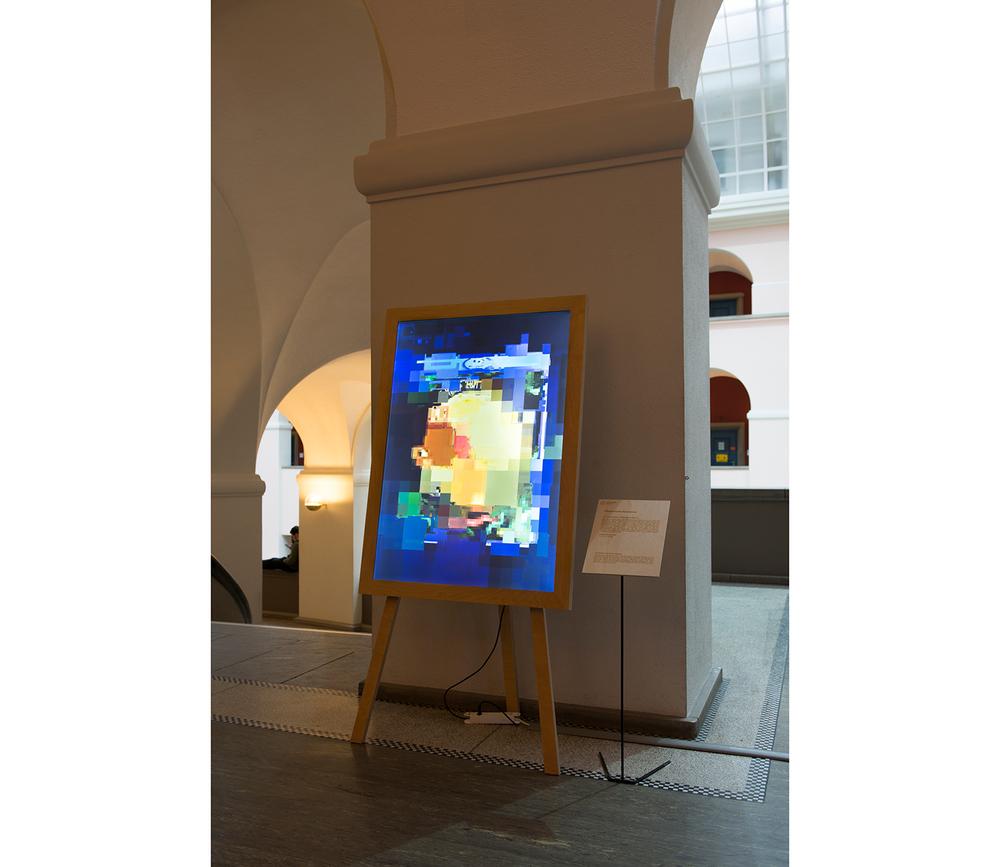 Samuel Rauber Licht im Rahmen zeitgenössischer Forschung Fotografie Kunst Auftrag Aufträge ETH Zürich
