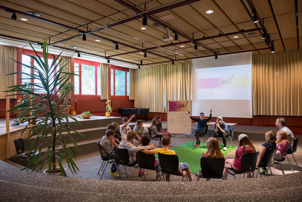 """Workshop """"Ein Leuchtturm für Thalwil"""" mit der Begabtenförderung Gattikon"""