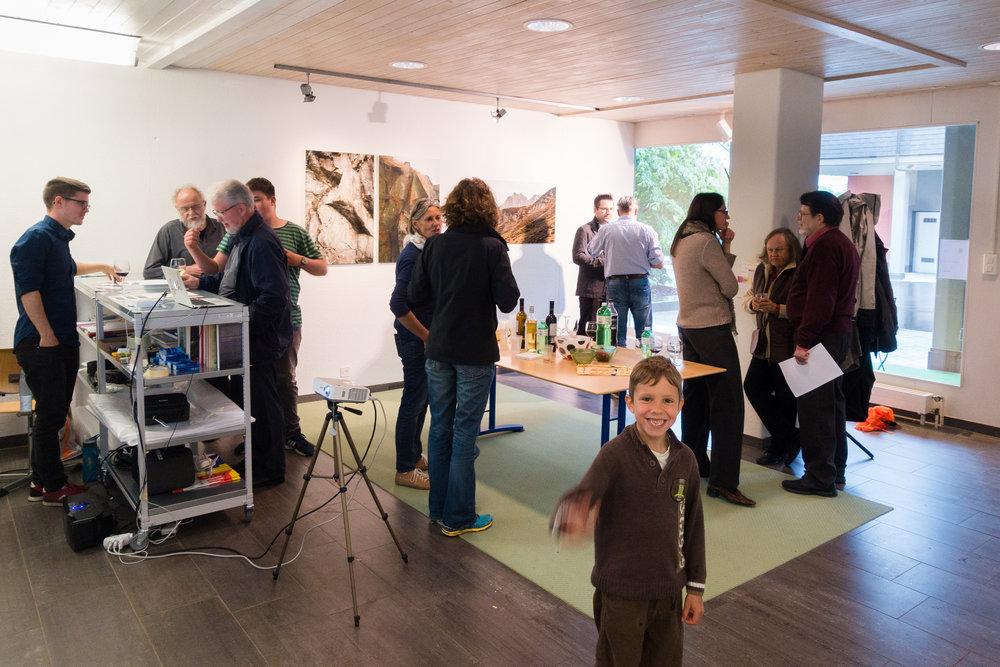Eröffnung des Vereinslokals von  Art in Thalwil!