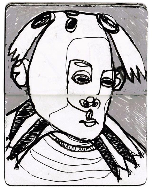 What a Nice Hat #zeichnung #artfido #sketch #posca #character #bern #illustration #doodle #DoodleArts #sketchbook #artfeature #inkdrawing #drawing #blackbook #molotow #zurich_switzerland #zürich #bern #berne #london #solothurn #blackandwhite  #sketchzone #AutodeskSketchBook #brutsubmission #sketchaday #artemperor #scribbletopia #portrait
