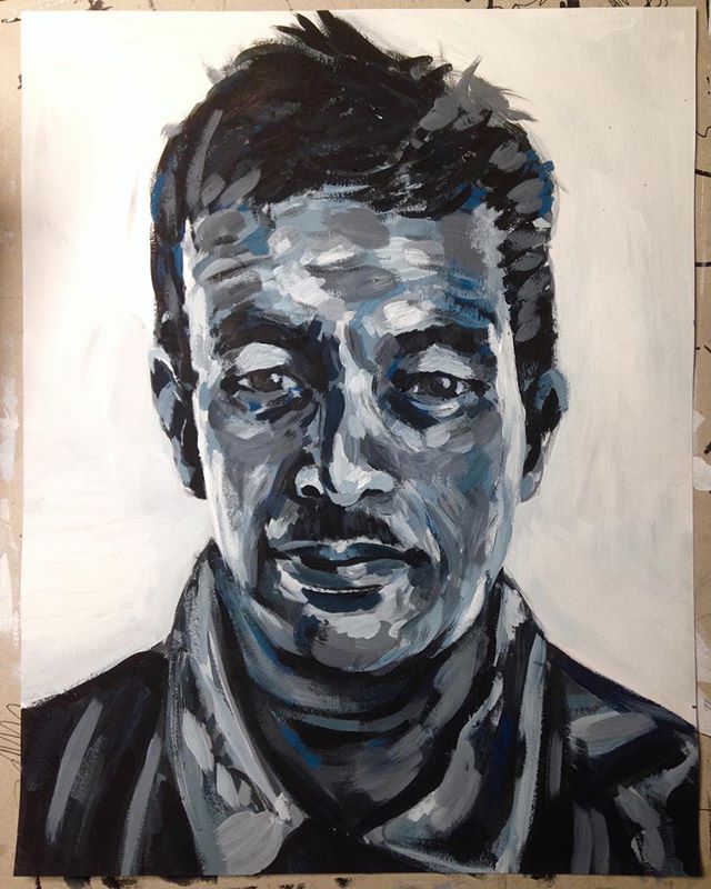 Portrait Practice Gouache on Paper A3