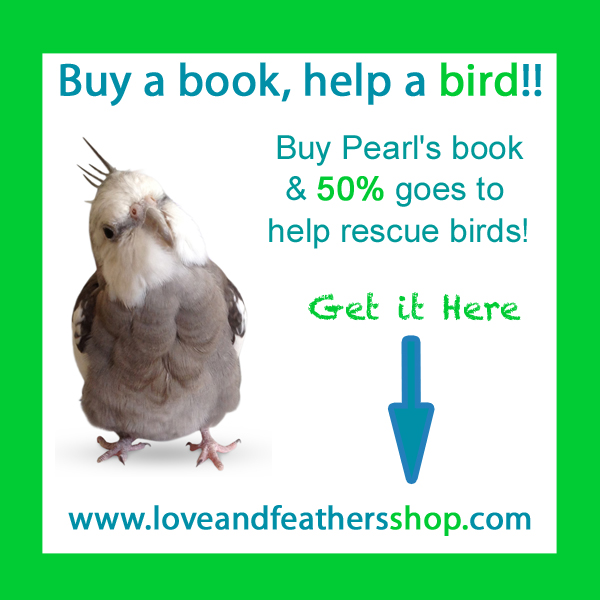 Buy a book (any version), help a bird - here and on Amazon!