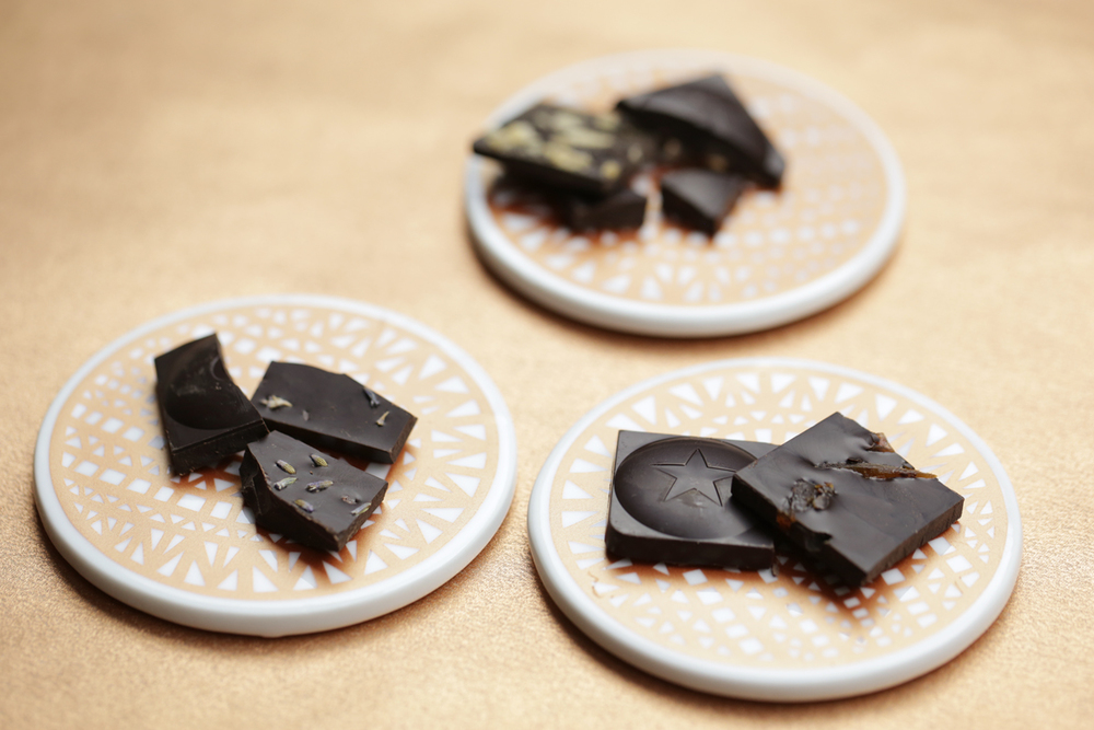 EXOTIC PAIRINGS   BEYOND DARK FLAVOR   FINE TEXTURES   WITH RAW CACAO    organic  -  vegan  - gluten free  -  kosher