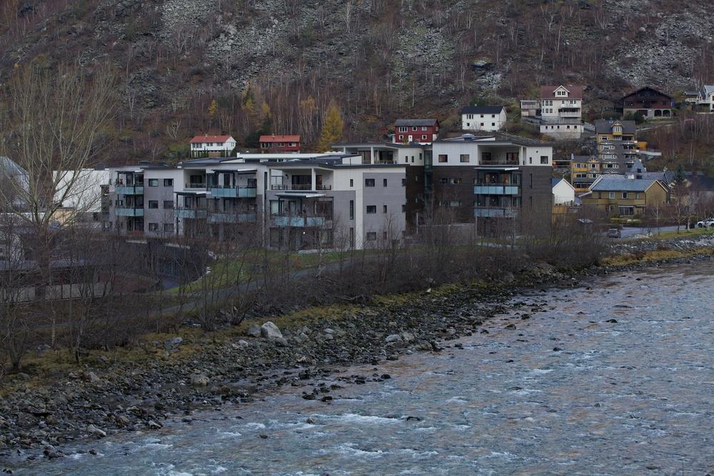 Bustadblokker i Årdal