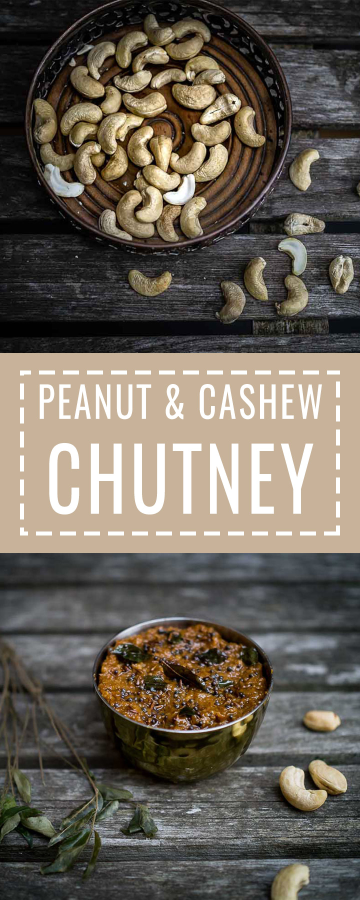 Peanut and Cashew Chutney | Vegan | www.discoverdelicious.org