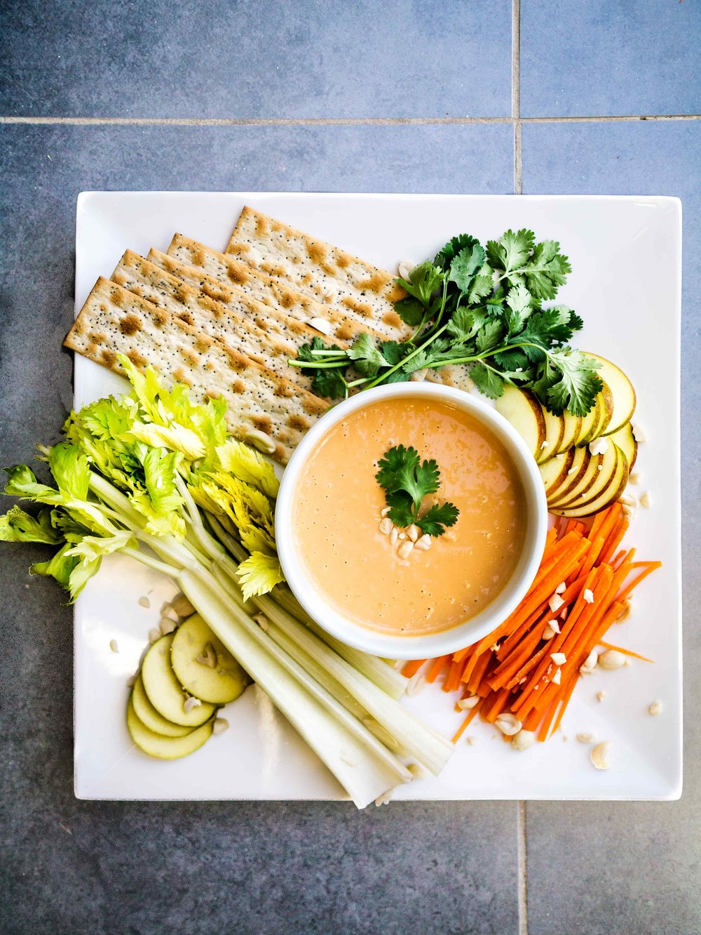 Peanut Dipping Sauce | Discover Delicious | www.discoverdelicious.org | Vegan Food Blog