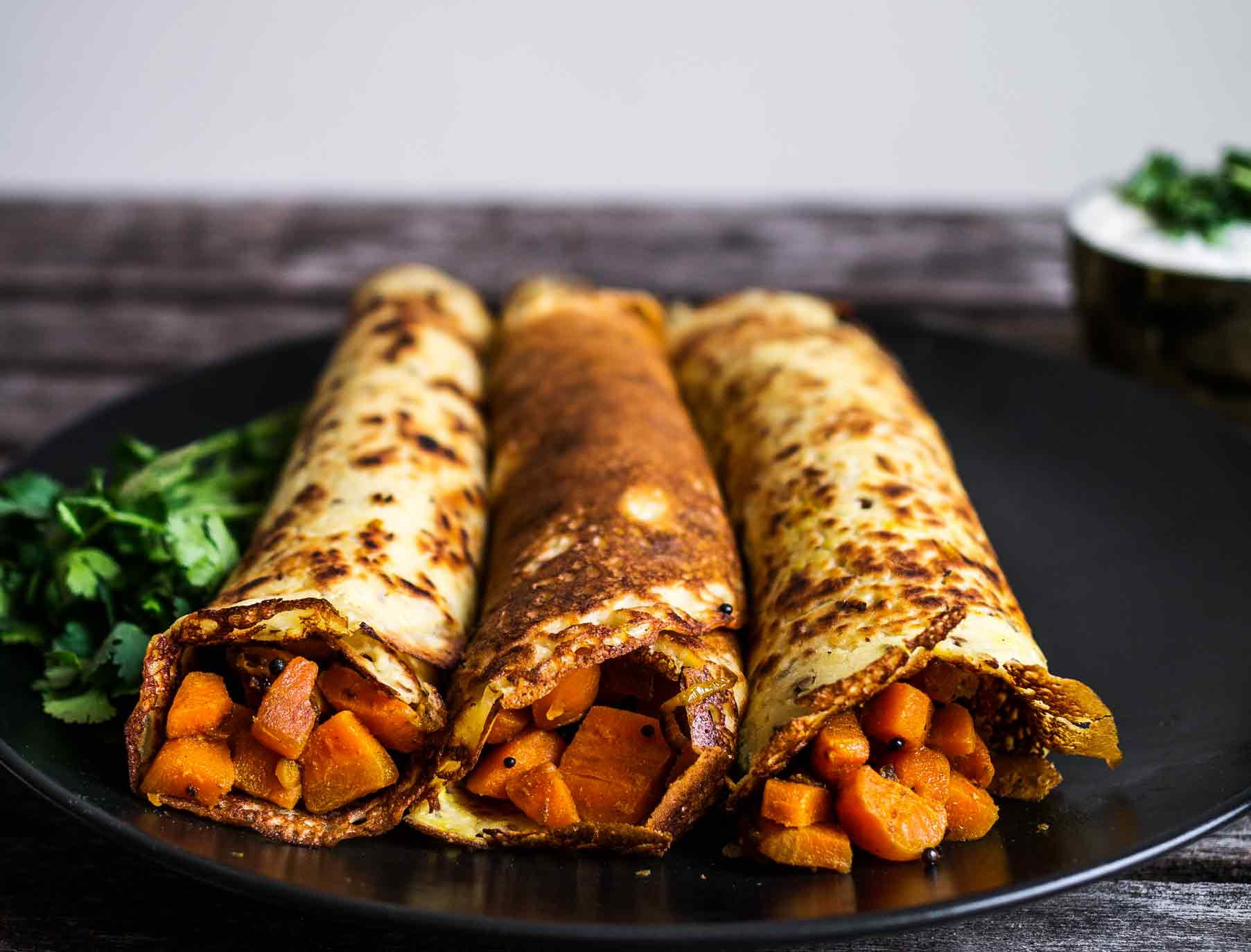 Stuffed pancakes - a delicious dish of Russian cuisine 87