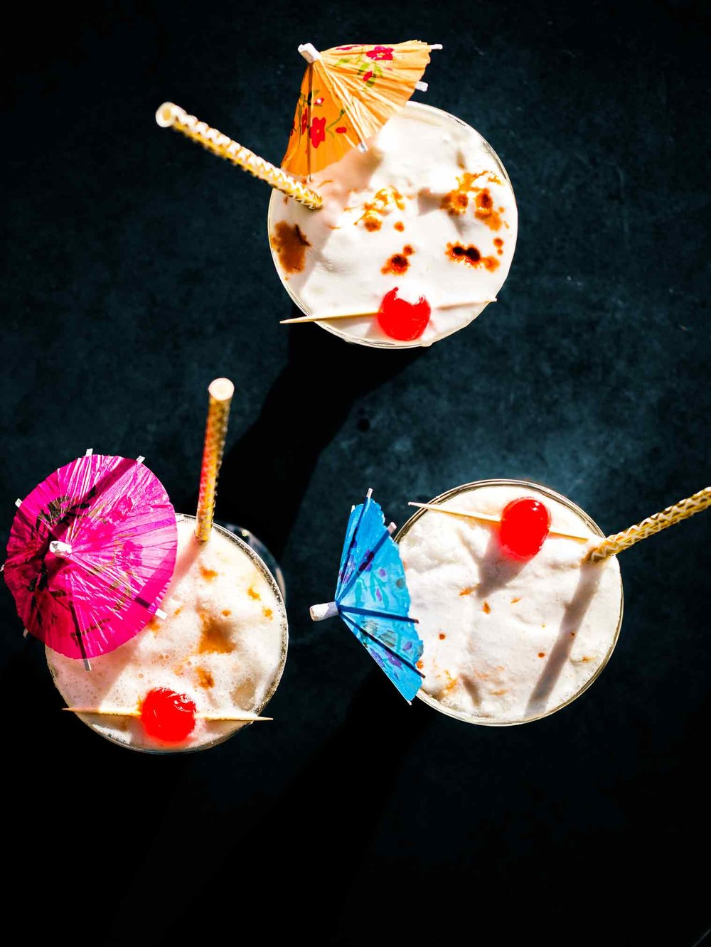Creamy Rum Coconut Vegan Cocktail | Discover Delicious | www.discoverdelicious.org | Vegan Food Blog