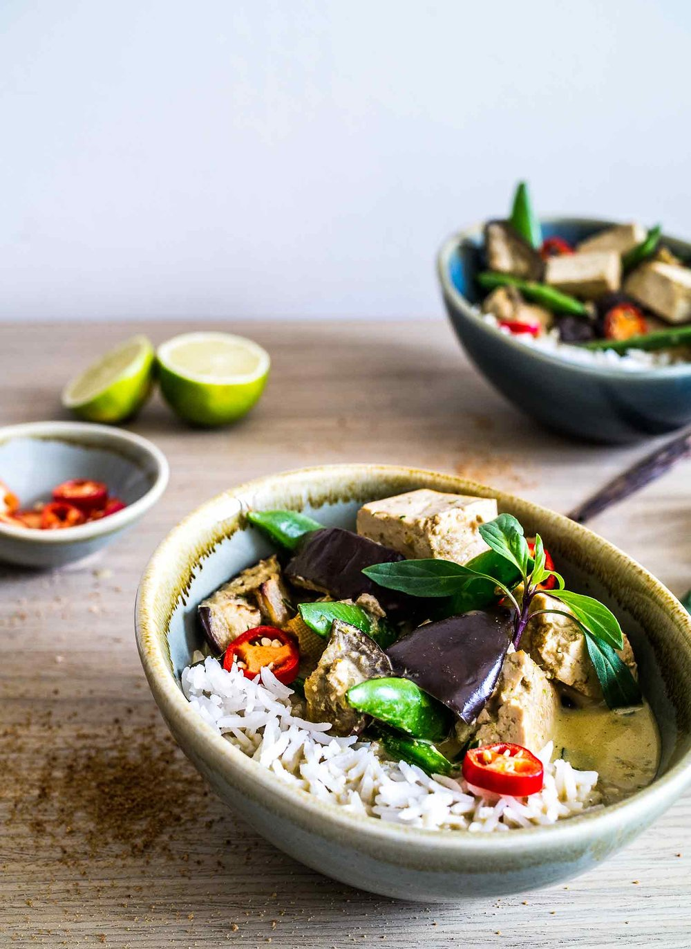 Thai Green Curry | www.discoverdelicious.org | Vegan Food Blog