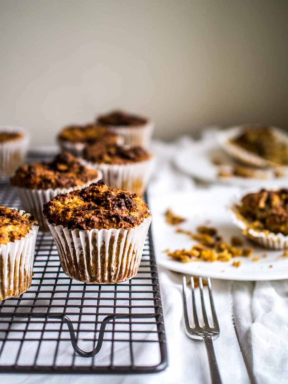 Healthy Vegan Muffins! So delicious with hidden goodness packed in - naturally sweetened by apples and sweet potato, carrot, zucchini or beetroot, and held together by mashed banana! Perfect for breakfast, in lunchboxes or as a snack.   #muffin #recipe #recipes #lunchbox #plant #based #easy #oatmeal #refined #sugar #free #dairyfree