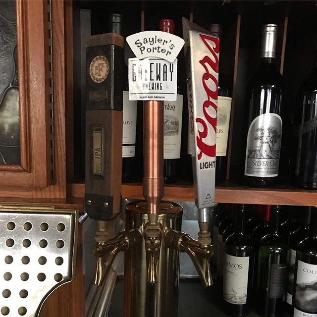 Now on tap at Sayler's Old Country Kitchen- Sayler's Porter