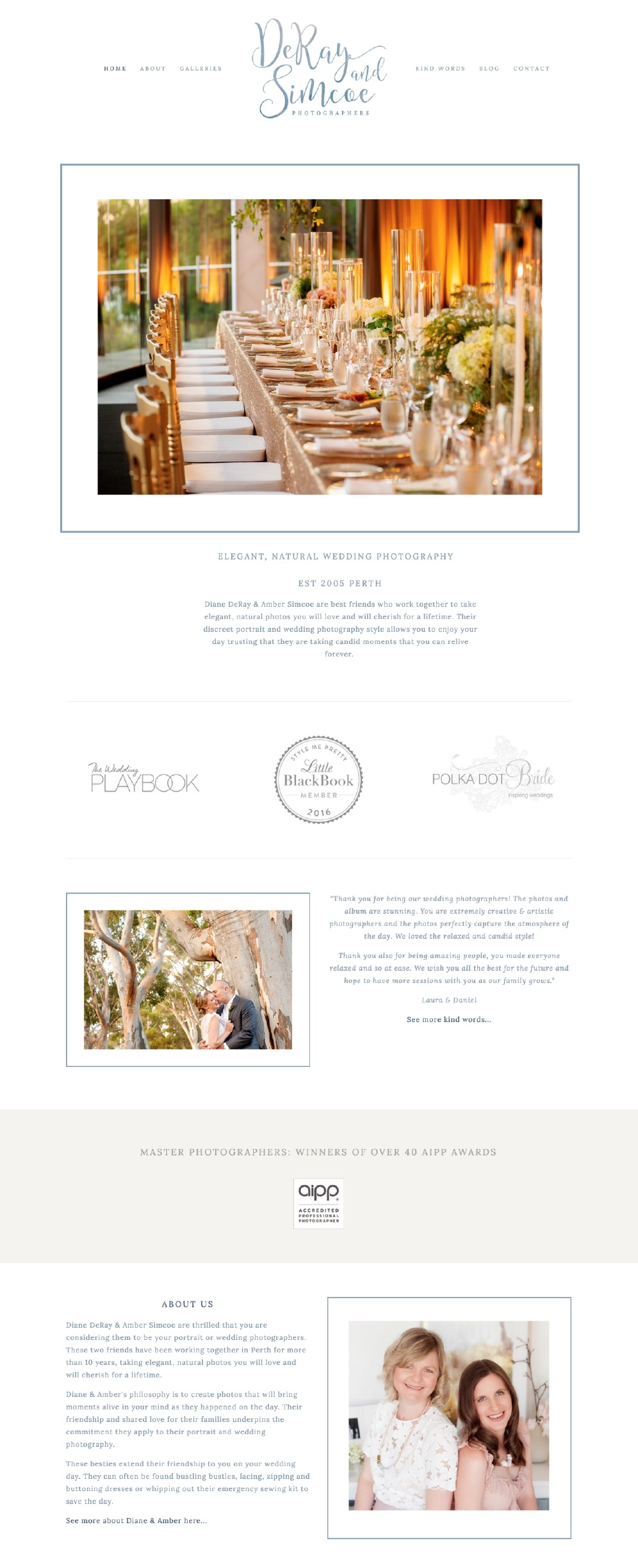 10 best example Squarespace websites • photographer edition — Paige ...