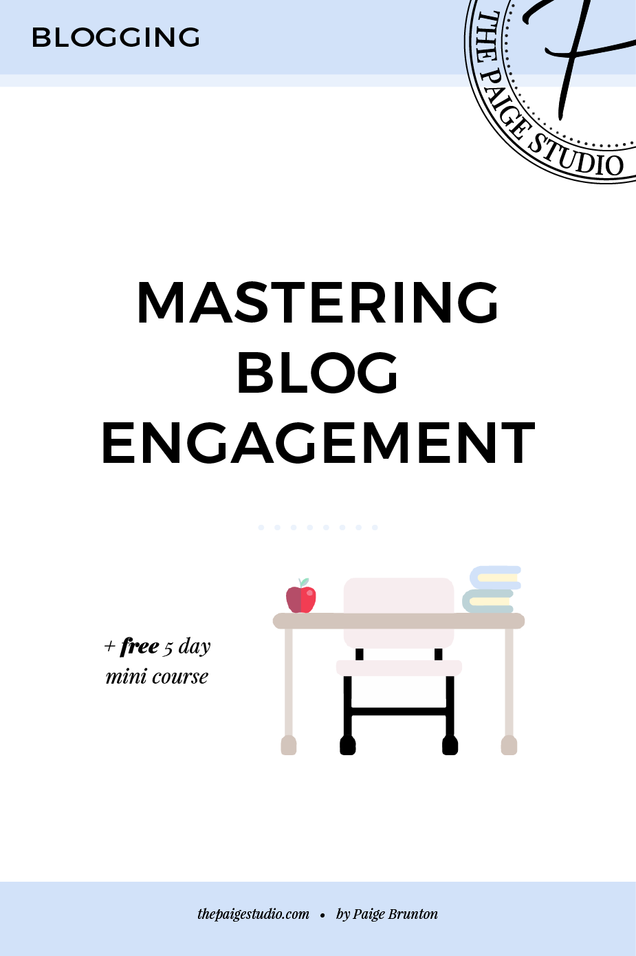Are you a blogger looking to increase your blogs engagement? This post includes explains what to do to get your followers to interact with your blog + social media posts. PLUS join the FREE mini course, Mastering Blog Engagement to really learn all the ins and outs of getting blog engagement. Click through to read the whole post and join the free mini course!