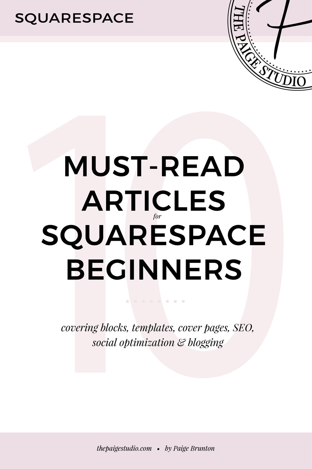 these blog posts will get you started in Squarespace
