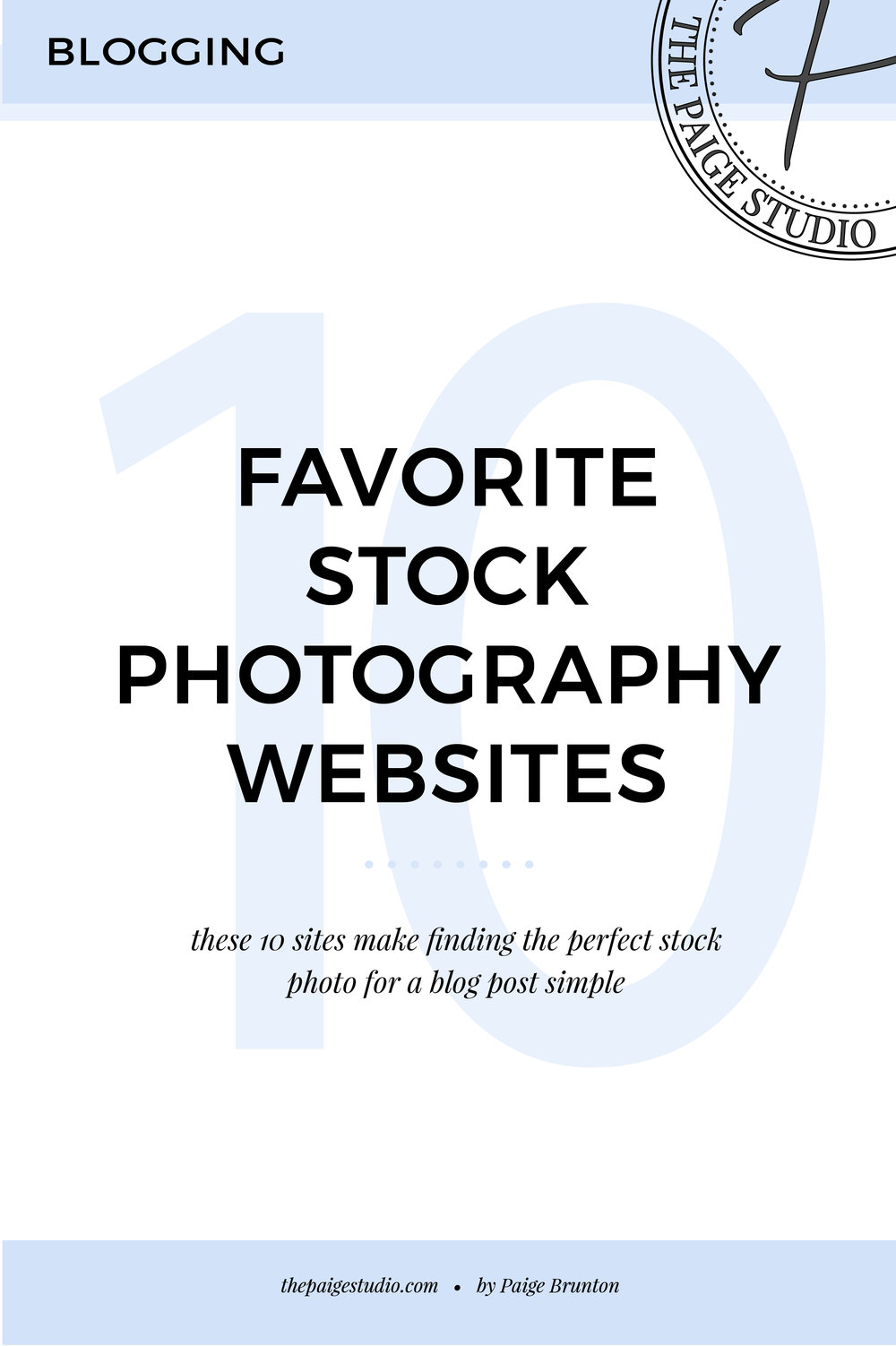 Saving For Later: 10 Guaranteed No-Fuss Stock Photography Websites