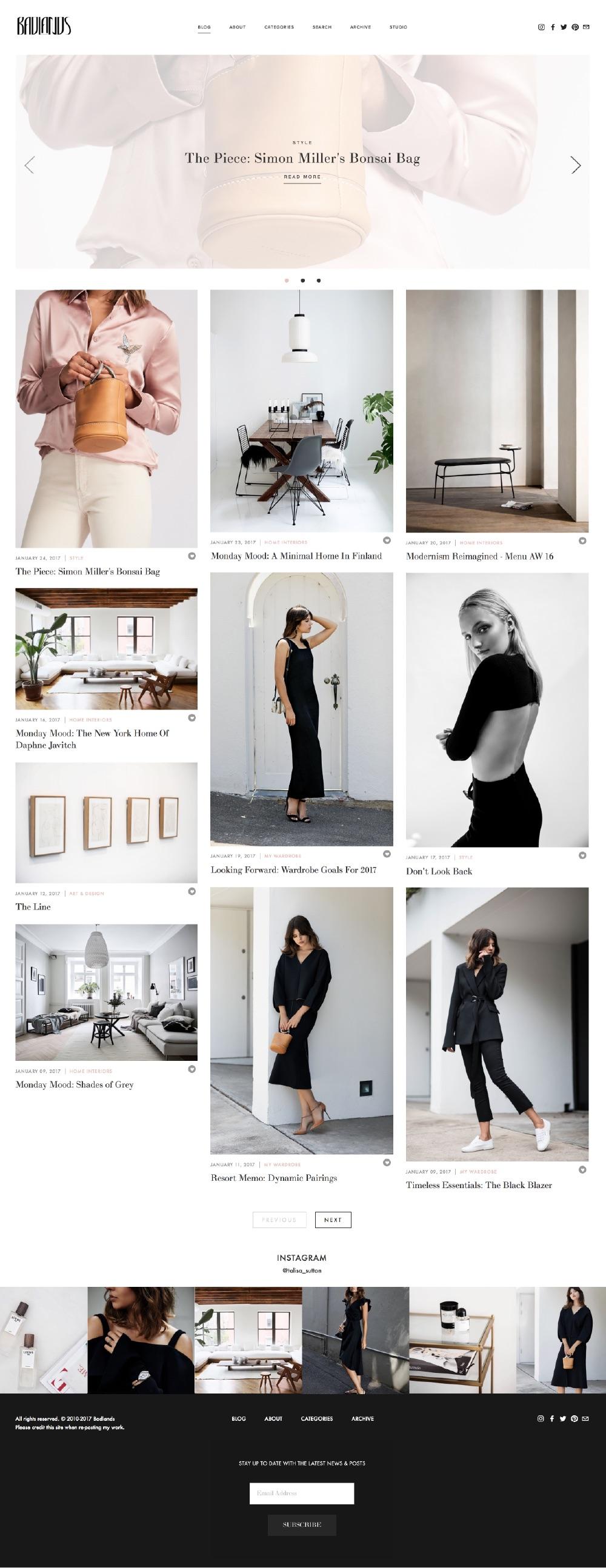 10 best example squarespace websites blog edition paige brunton squarespace expert. Black Bedroom Furniture Sets. Home Design Ideas