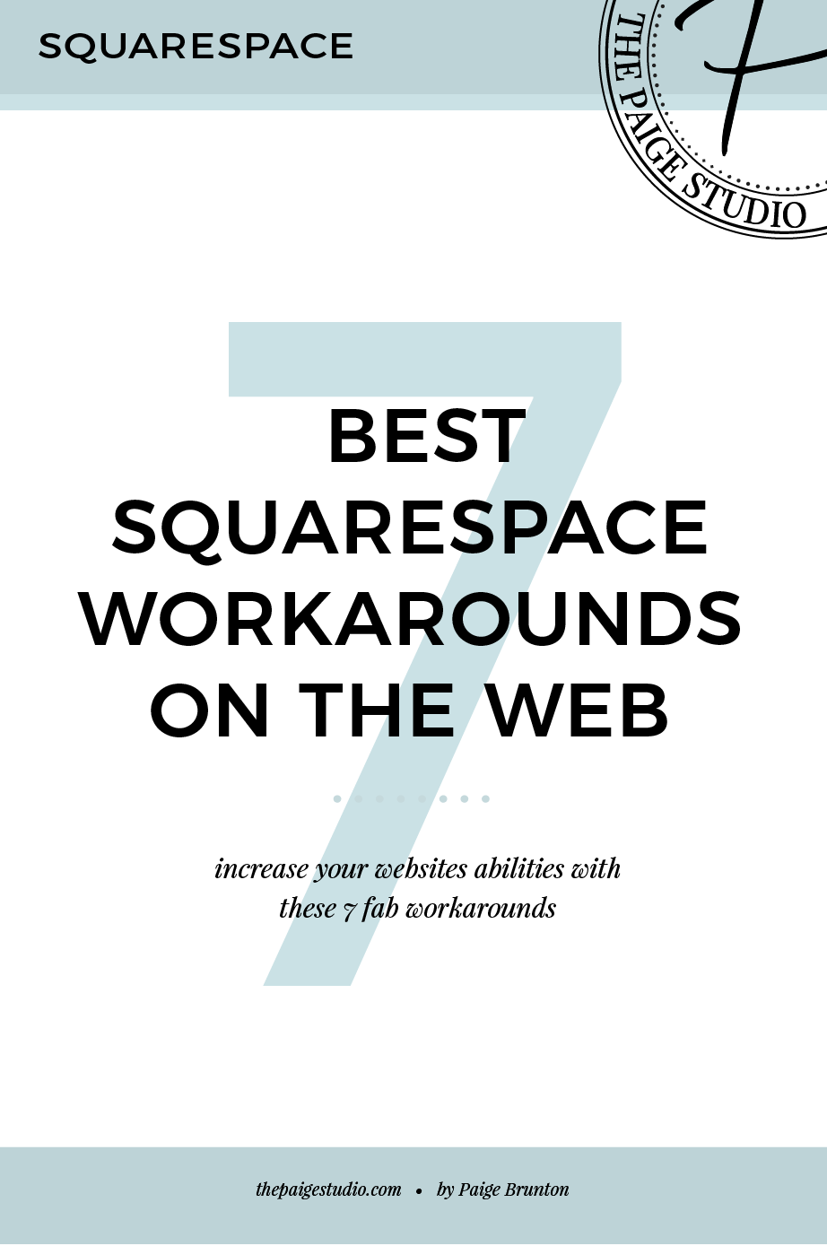 7 best workarounds to common Squarespace issues