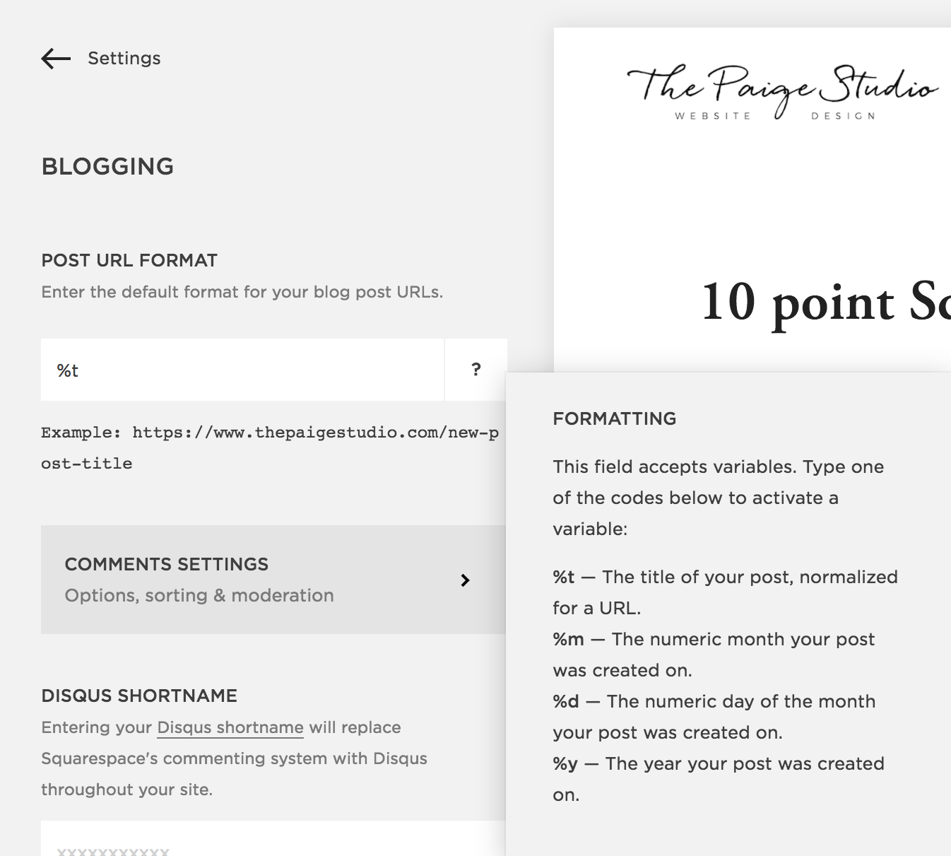 13 Squarespace settings you must fix before you launch your new site