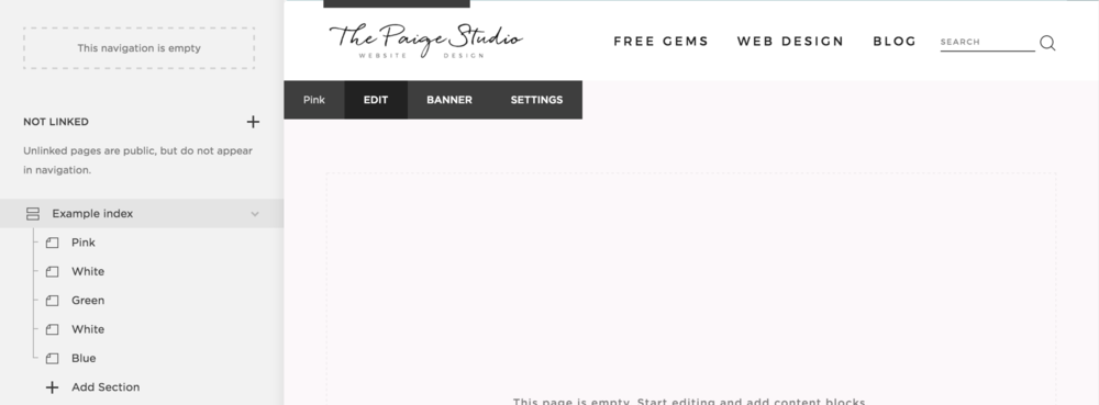 squarespace change background color in Brine template family.png