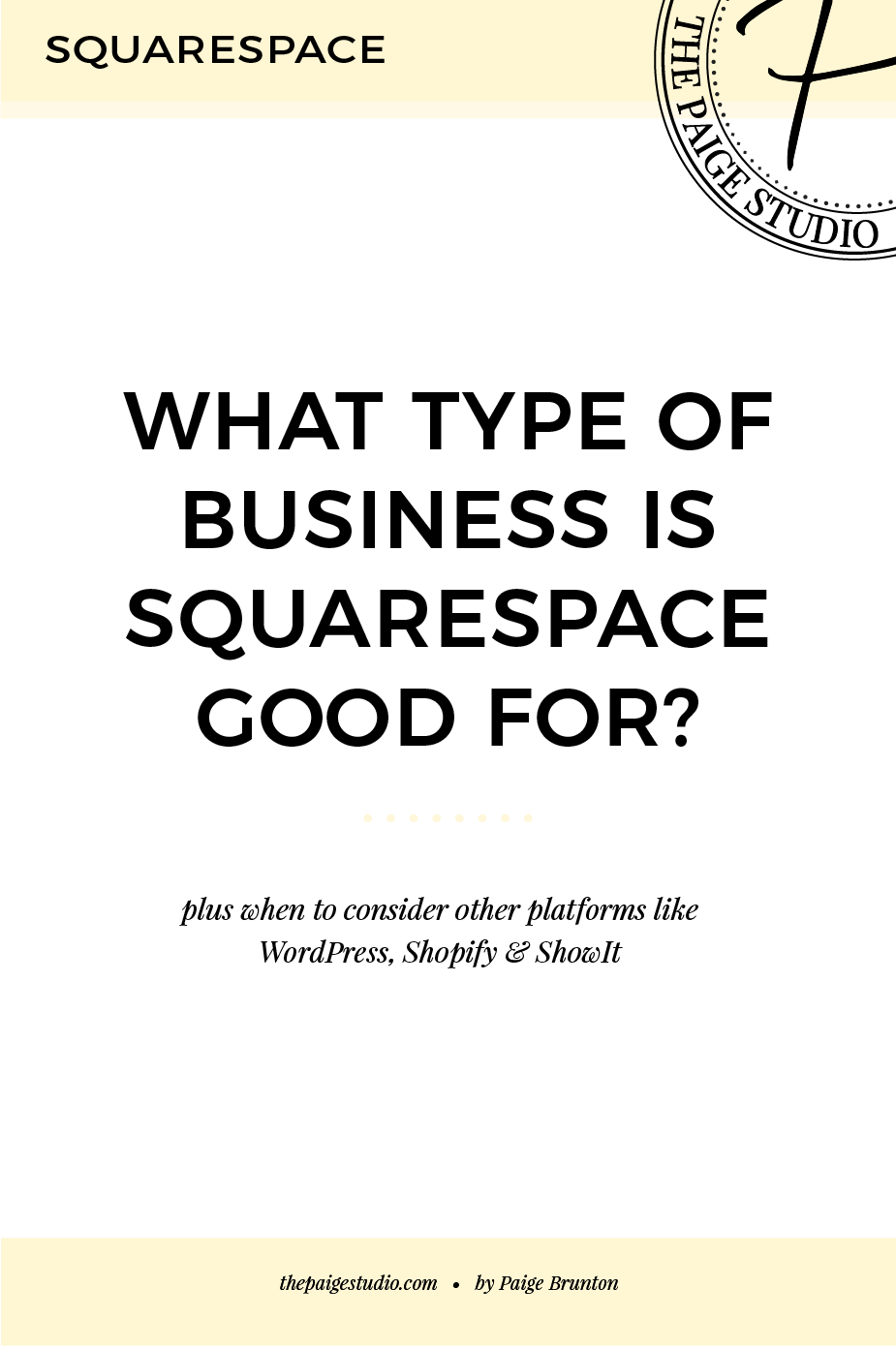 What type of business is Squarespace good for? Answered..png