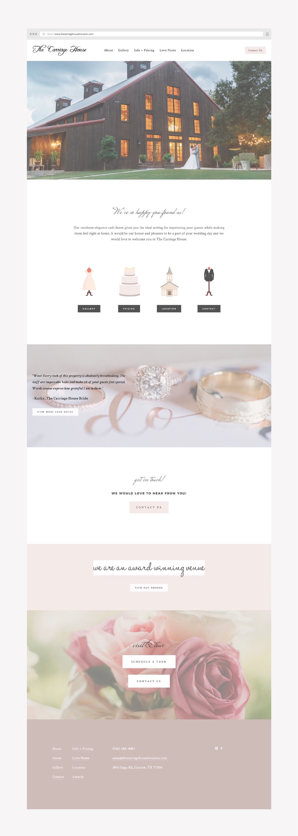 squarespace example website - wedding venue vendor.jpg