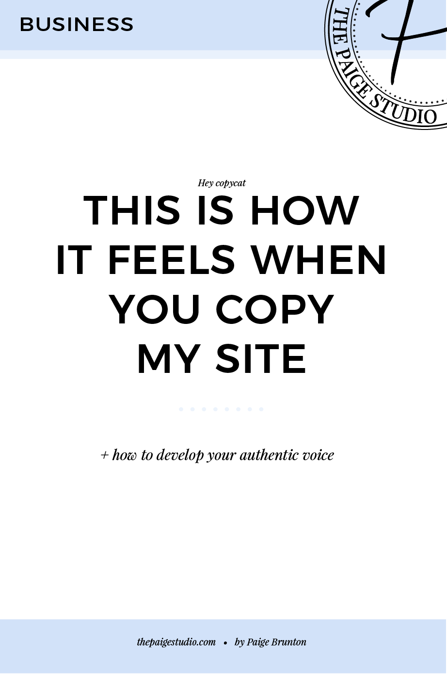 this is how it feels when you copy my site