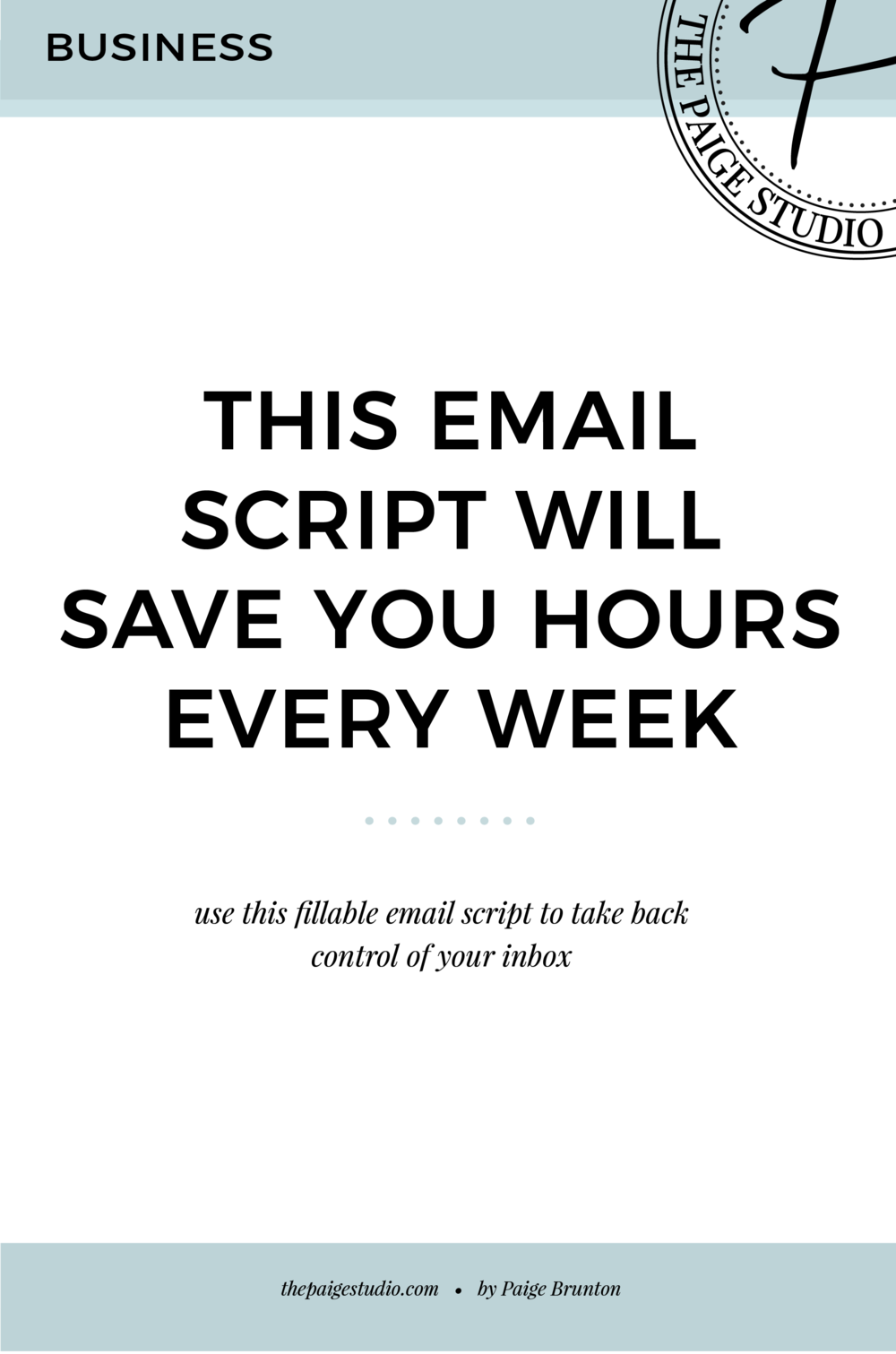 This Email Script Will Save You Hours Every Week In Your Inbox