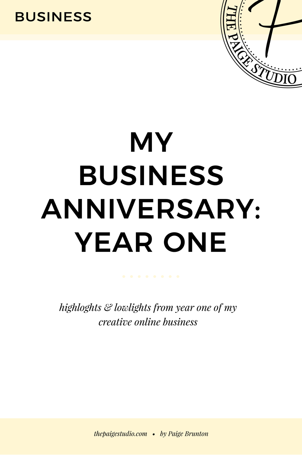 business anniversary year 3 what i made what worked what didn t