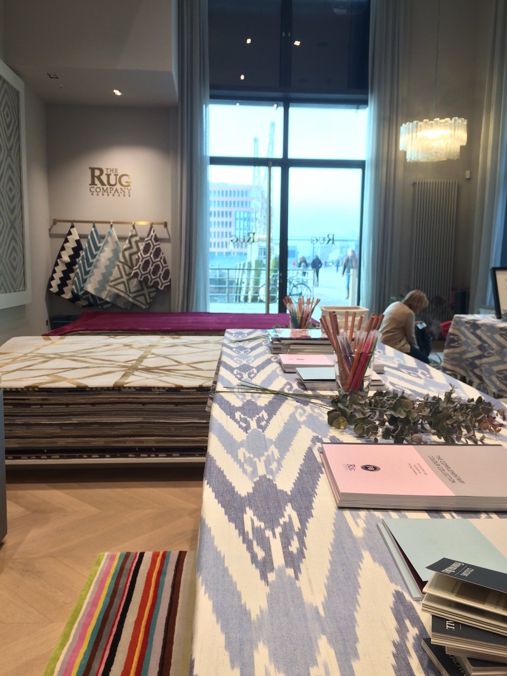 The Rug Company event with Holly Becker in Hamburg Germany.JPG