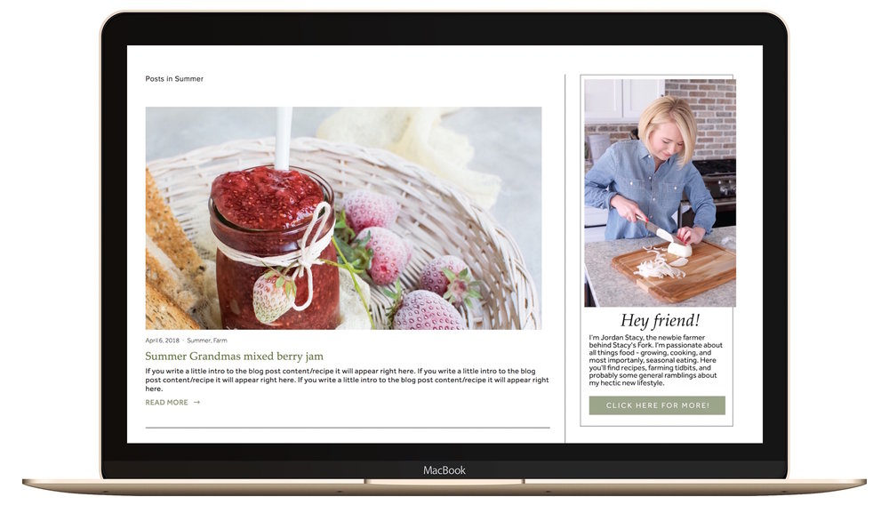 Food blog built on Squarespace as an example in 2018.jpg