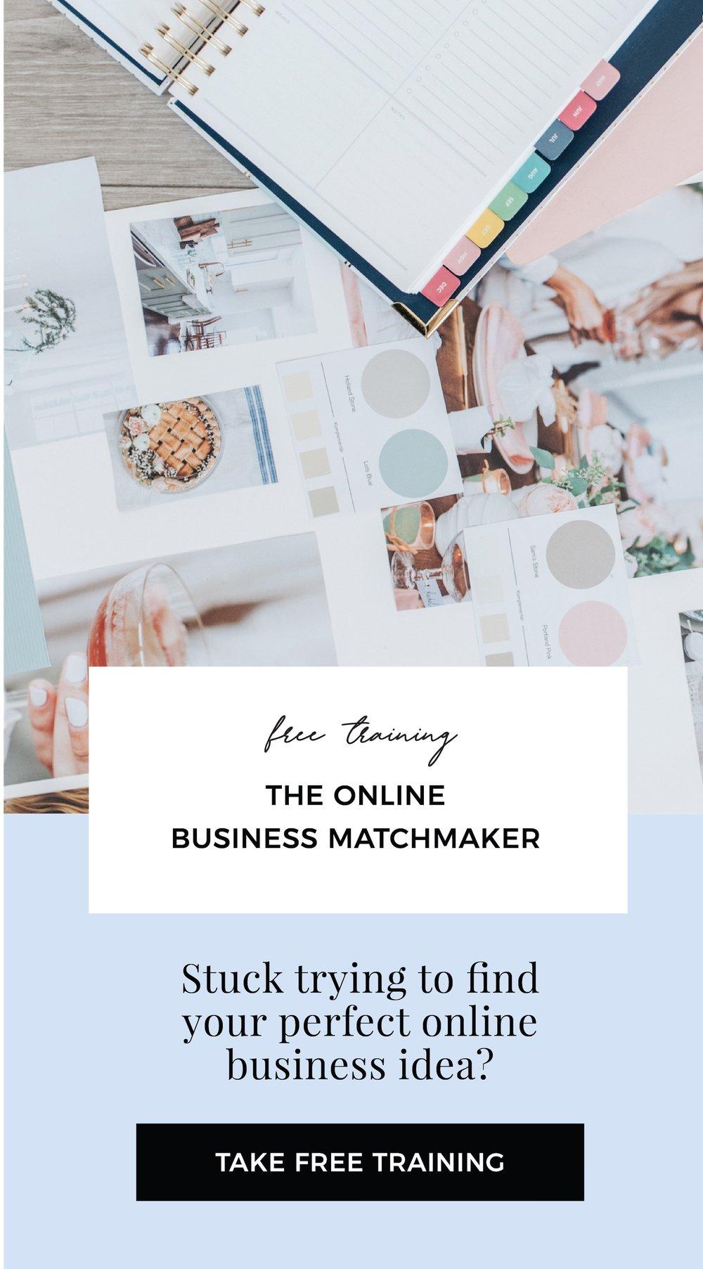 THE ONLINE BUSINESS MATCHMAKER TRAINING.jpg
