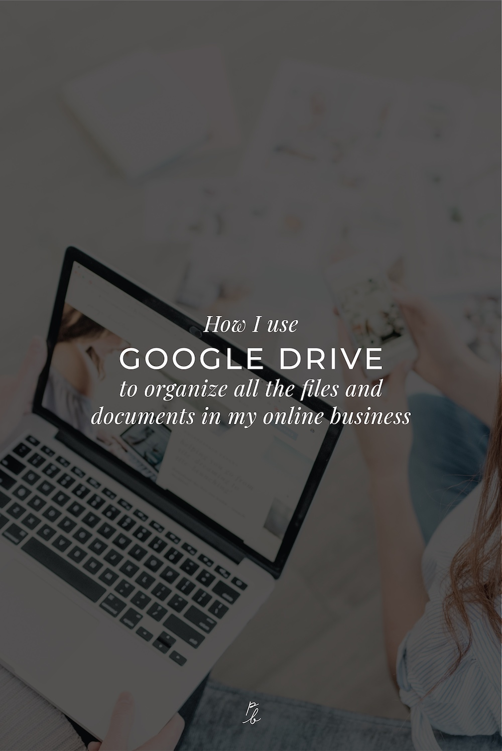 How I use Google Drive to organize allt he fules and documents in my online business.jpg