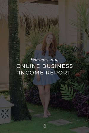 February 2019 Online Business Income Report