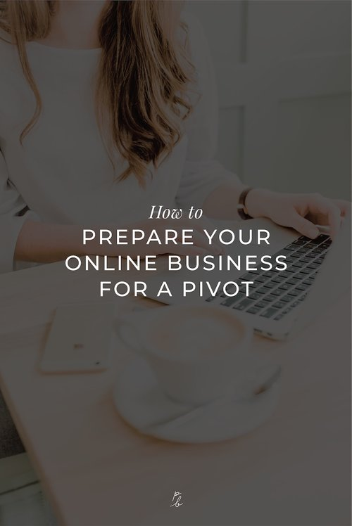 how to prepare your online business for a pivot