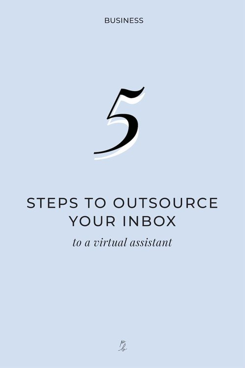 5 steps to outsource your inbox to a virtual assistant