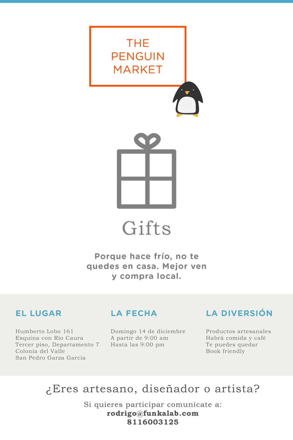 Gifts flyer