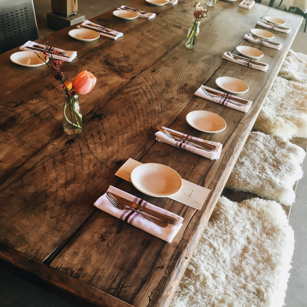 wyebrook farm table