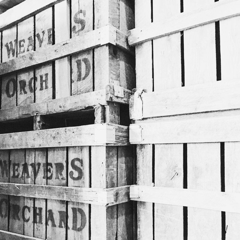Weaver's Orchard Crates