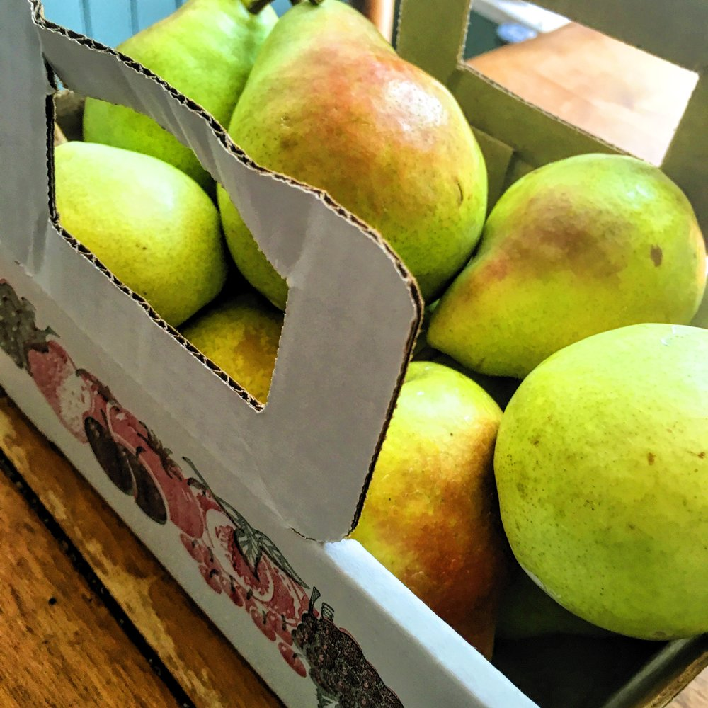 Weaver's Orchard Pears