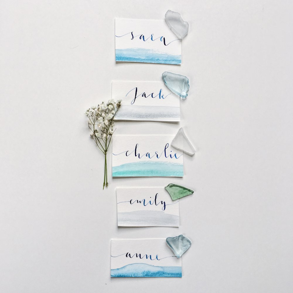 nautical placecards
